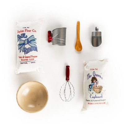 The Queen's Treasures 18 Inch Doll  7 Pc Kitchen Baking Tool Set And Food