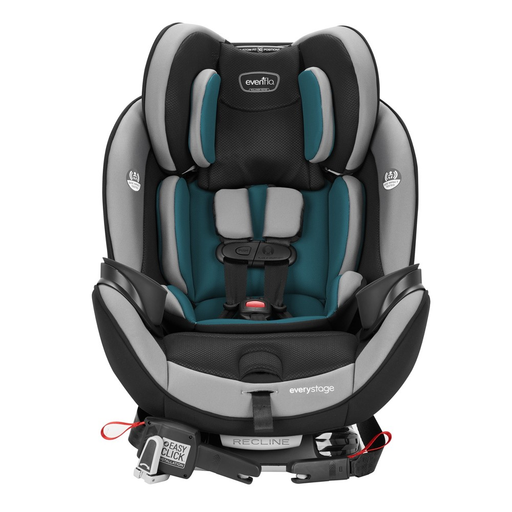 Image of Evenflo EveryStage DLX 3-in-1 Convertible Car Seat - Reefs