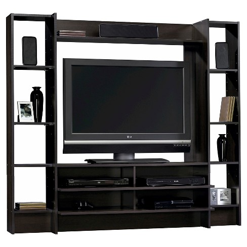 Beginnings Entertainment Wall System - Cinnamon Cherry - Sauder - image 1 of 1