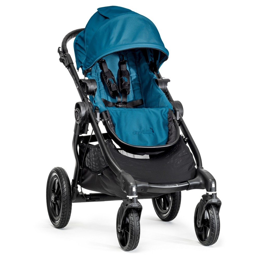 Baby Jogger City Select Single Black Frame - Teal (Blue)