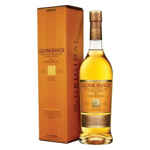 Glenmorangie Original Highlands Single Malt Scotch Whisky - 750ml Bottle - image 1 of 4