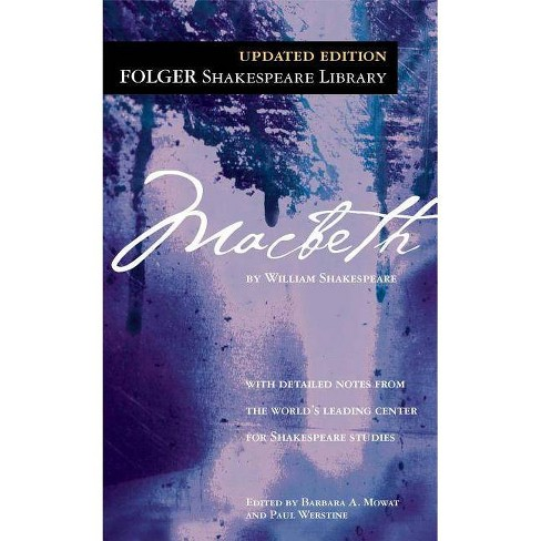Macbeth - (Folger Shakespeare Library) by  William Shakespeare (Paperback) - image 1 of 1