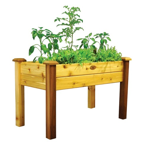 Elevated Square Garden Bed - Gronomics - image 1 of 2