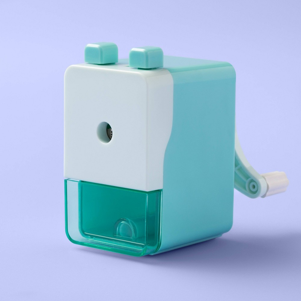 Image of Rotary Pencil Sharpener - More Than Magic Turquoise