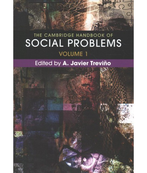 Cambridge Handbook of Social Problems -  (Hardcover) - image 1 of 1