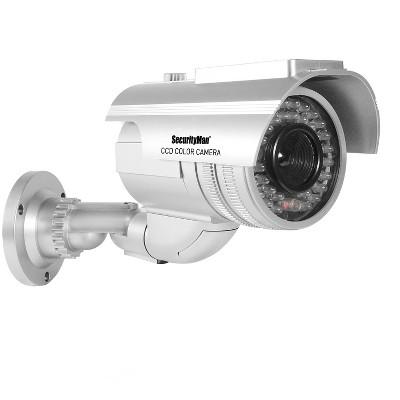 SecurityMan Robust Solar Powered Outdoor/Indoor Dummy Fake Camera
