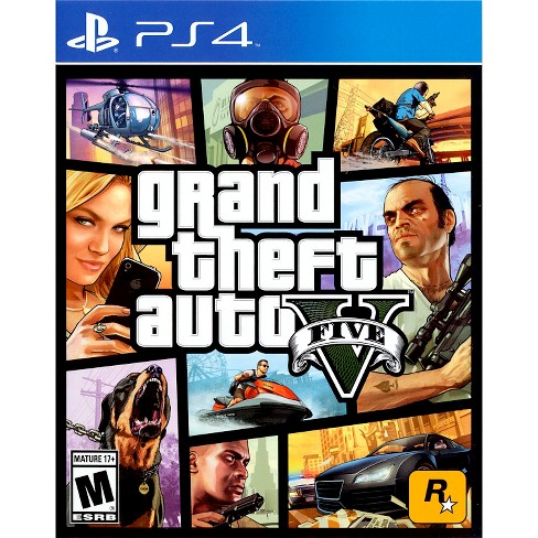 Grand Theft Auto V PRE-OWNED PlayStation 4 - image 1 of 1