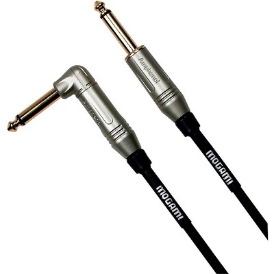 Mogami Guitar Cable Straight to Right Angle