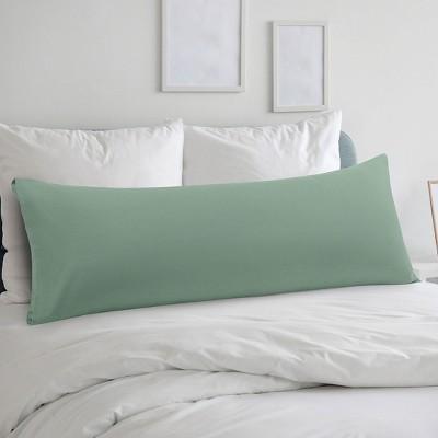 "Body(20""x54"") Microfiber with Envelope Closure Pillow Cases Spa Blue - PiccoCasa"