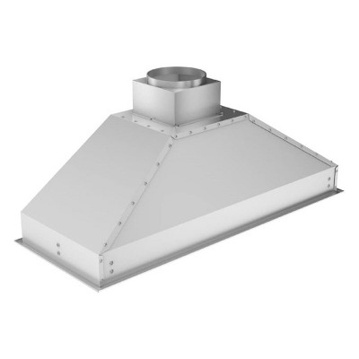 ZLINE 695-46 Deep 1200 CFM 46 Inch Range Hood Insert with LED Lighting, 4 Fan Speed Settings, Stainless Steel