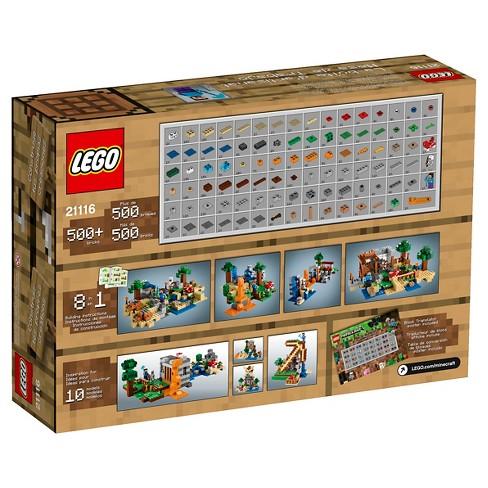Lego Minecraft Creative Adventures Crafting Box 21116 Target