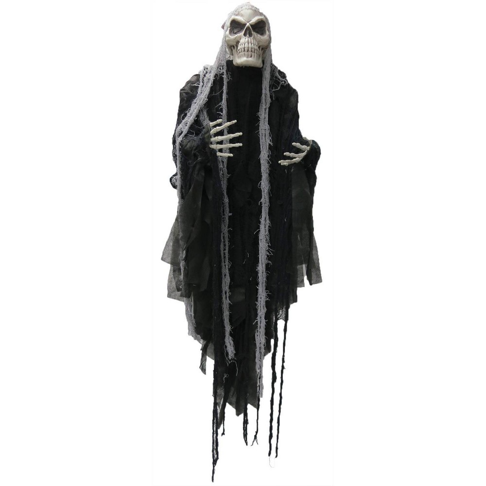 Image of 5 ft. Long Hair Reaper, decorative holiday mannequins