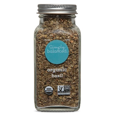 Organic Basil - .8oz - Simply Balanced™