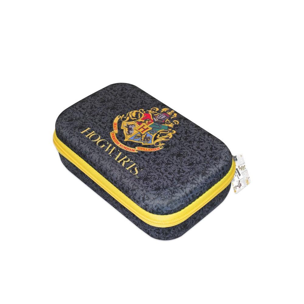 Image of Hogwarts with Crest Design Pencil Case