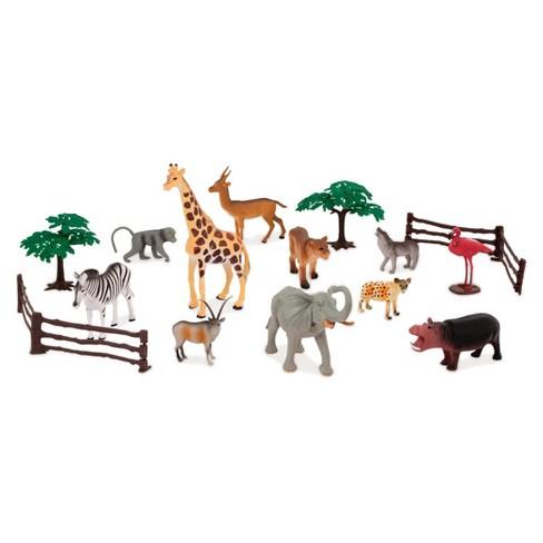 Terra Jungle World Assorted Animal Playset 60pc Target