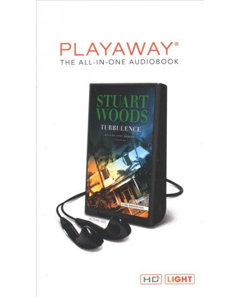 Turbulence : Library Edition -  Unabridged by Stuart Woods (Pre-Loaded Audio Player) - image 1 of 1