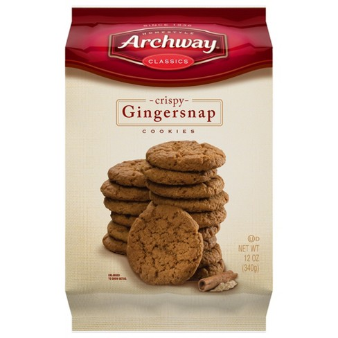 Archway Gingersnap Crispy Snacking Cookies - 14oz - image 1 of 4