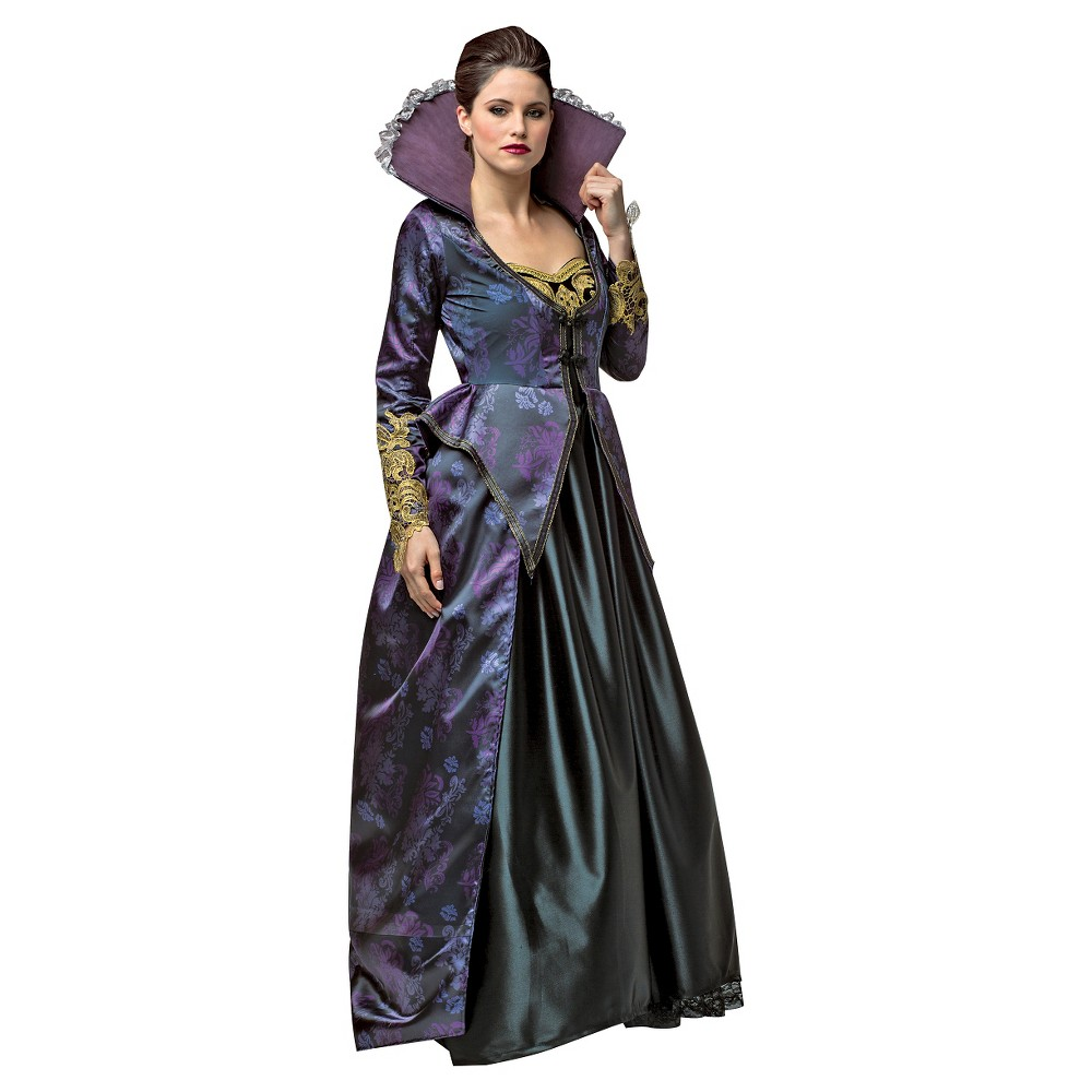 Women's Plus Size Once Upon A Time Evil Queen Costume Black 2X
