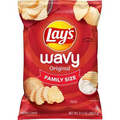 Potato Chips: Lay's Wavy