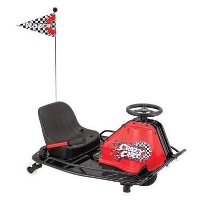 Razor Crazy Electric Cart - Black