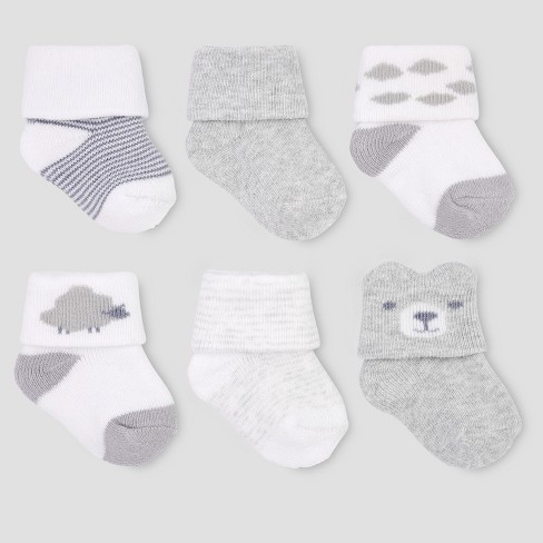 b884ae5bb Baby Boys  6pk Socks - Just One You® Made By Carter s 0-3M   Target