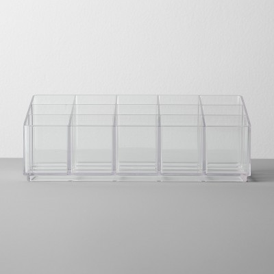 Bathroom Plastic Nail Polish Organizer Clear - Made By Design™