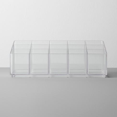Bathroom Plastic Nail Polish Organizer Clear Made By Design