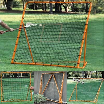 EZ Goal 6 x 6 Ft Folding Lacrosse Rebounder Ball Pitch Bounce Back Practice Net