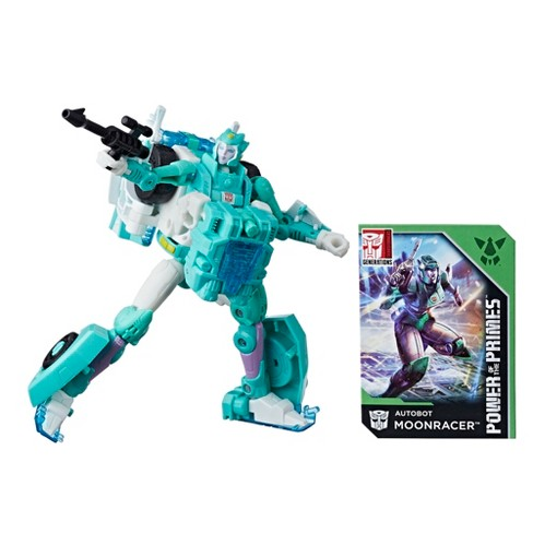 Transformers Generations Power of the Primes Deluxe Class Autobot Moonracer - image 1 of 8