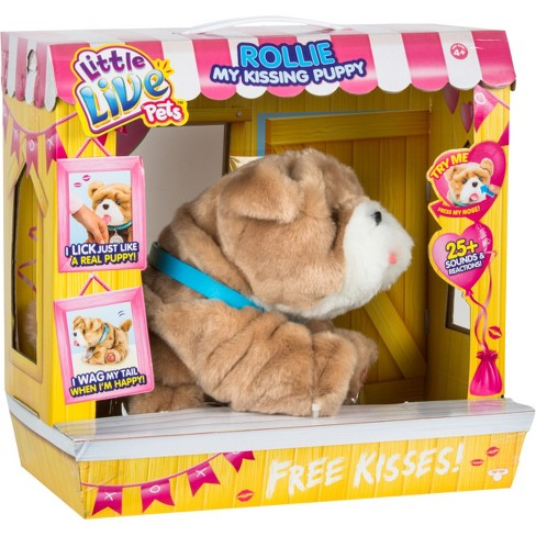 a61249655588 Little Live Pets Rollie My Kissing Puppy : Target