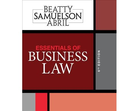 Essentials of Business Law -  (Paperback) - image 1 of 1