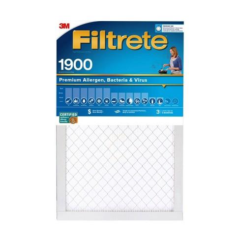 Filtrete Premium Allergen Bacteria and Virus Air Filter 1900 MPR - image 1 of 4