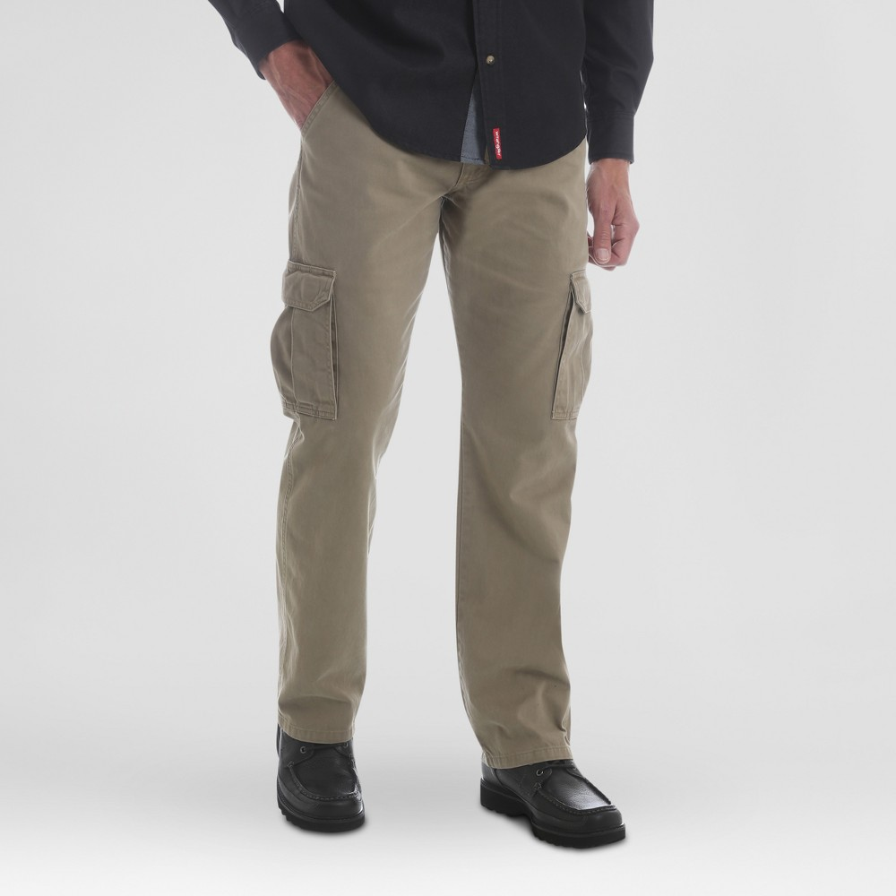 Wrangler Men's Cargo Pants - British Khaki 32x34
