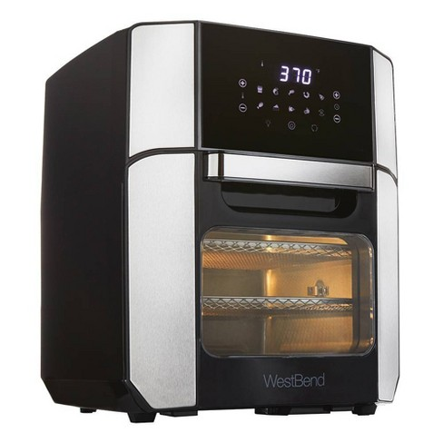 West Bend XL12.6qt Air Fryer Oven - Black - image 1 of 3