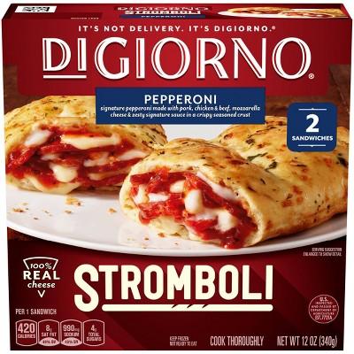 DiGiorno Pepperoni Frozen Stromboli - 12oz