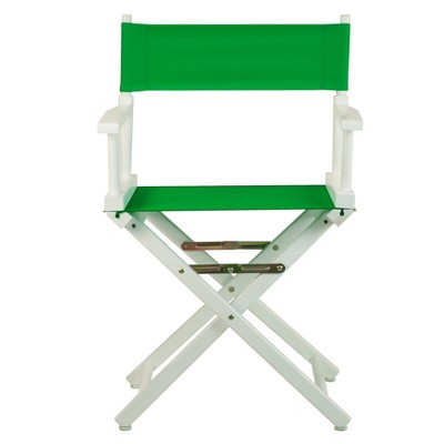 Green White Frame Director's Chair