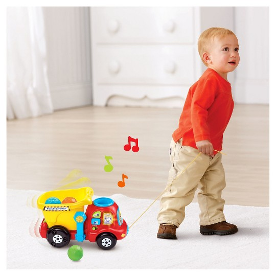 VTech Drop and Go Dump Truck image number null