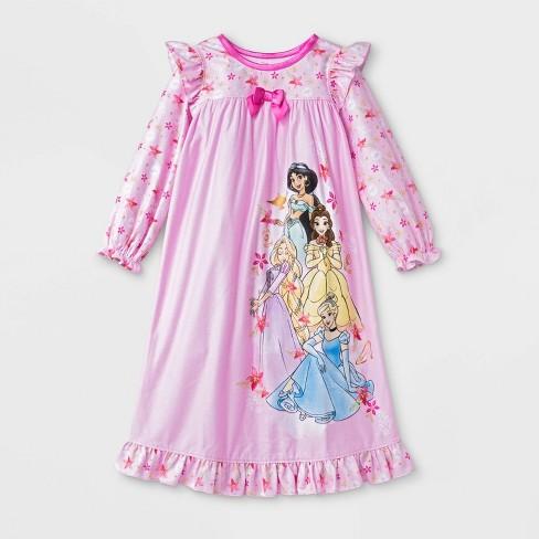 Toddler Girls' Disney Princess Pajama Nightgown - Pink - image 1 of 1