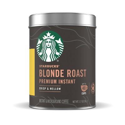 Starbucks Premium Blonde Light Roast Instant Coffee - 3.17oz
