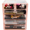 Sorbus Cosmetic Makeup and Jewelry Storage Case Display (4 Large/2 Small Drawers) - image 3 of 4