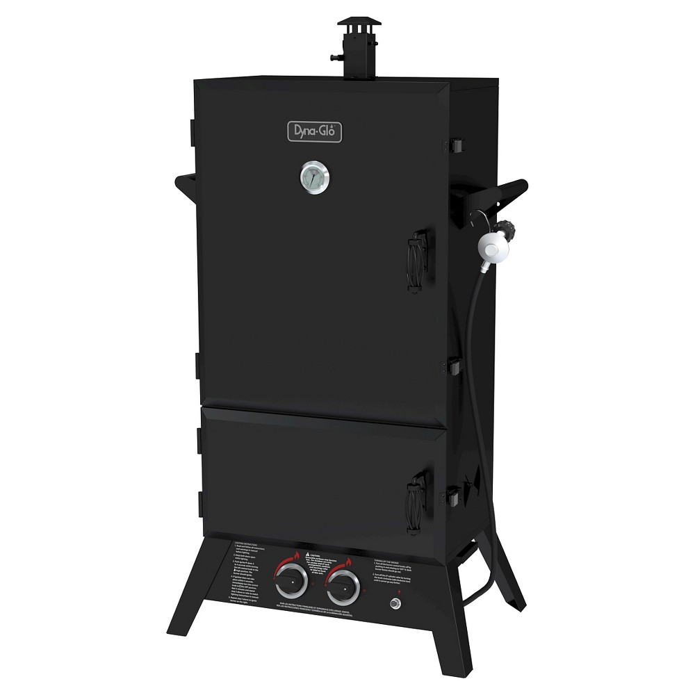 Dyna-Glo Wide Body LP Gas Smoker 43, Black