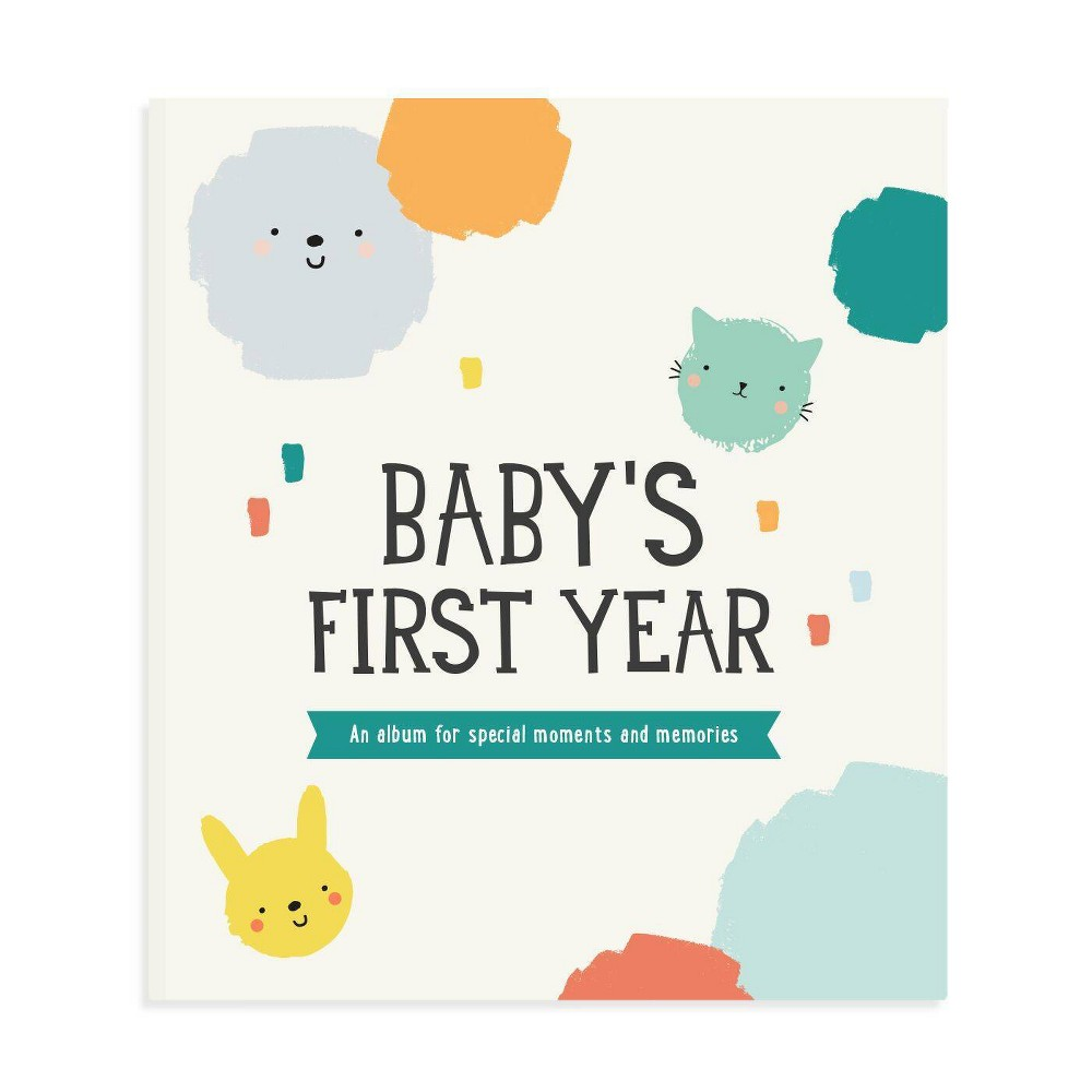 Image of Milestone Baby's First Year Album