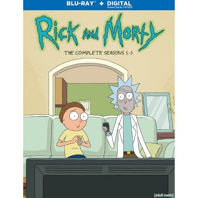 Rick And Morty: S1-3 (3Pk) (Blu-ray + Digital)