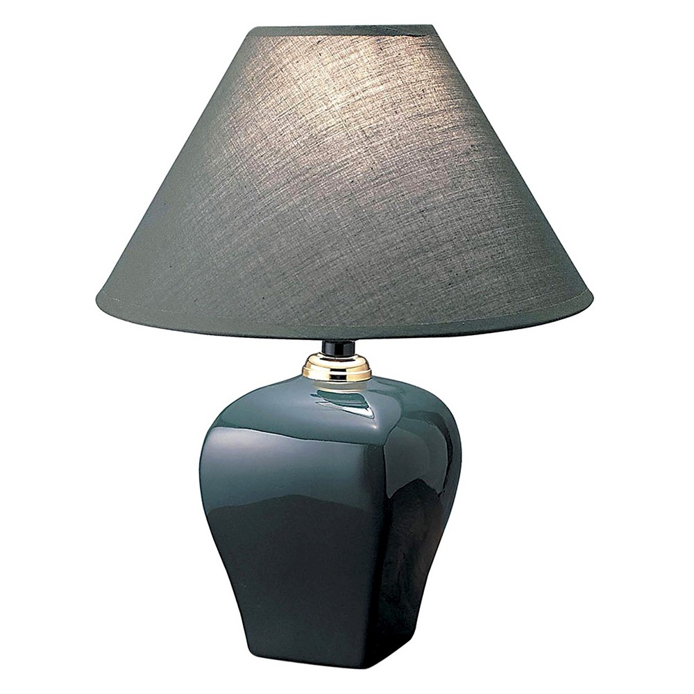 Ore International Table Lamp - Green