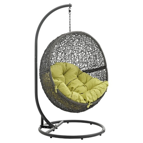 Hide Outdoor Patio Swing Chair - Modway - image 1 of 4