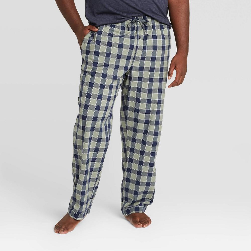 Discounts Men's Big & Tall Trellis Poplin Pajama Pants - Goodfellow & Co™
