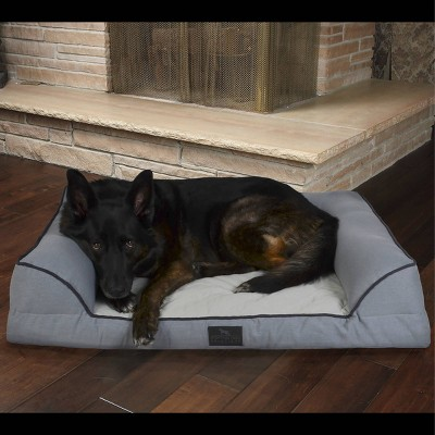 Sporting Dog Solutions Orthopedic Couch Dog Bed - L - Gray