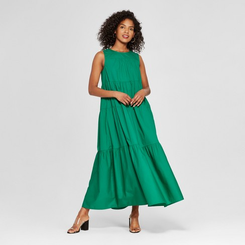 Women S Tiered Maxi Dress Who What Wear Target