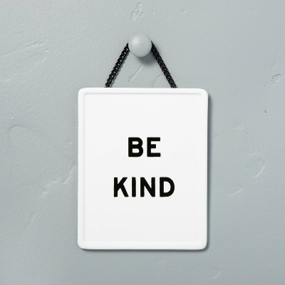 'Be Kind' Wall Sign White/Black - Hearth & Hand™ with Magnolia