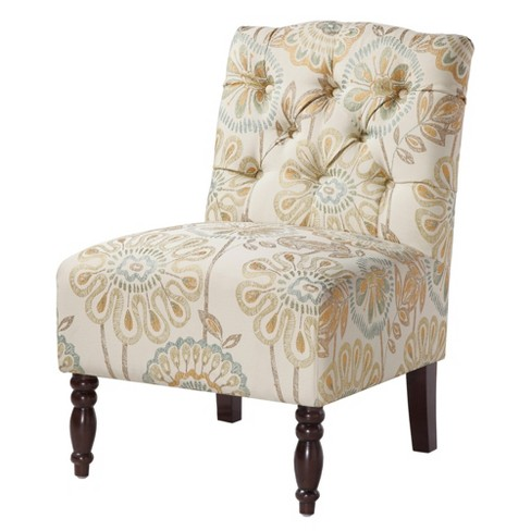 Lola Tufted Armless Chair - image 1 of 6